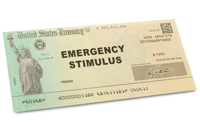 United States Treasury Stimulus Check