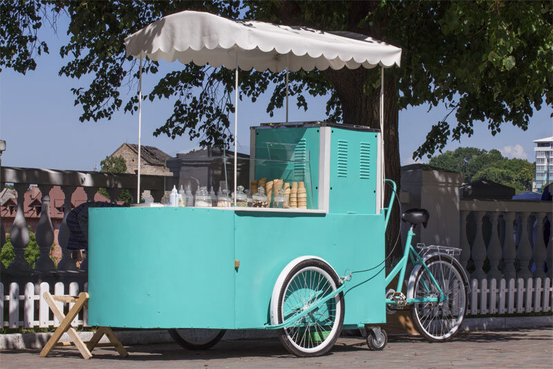 Ice Cream Bicycle Cart
